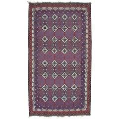 Large Antique Bakhtiari Kilim Rug