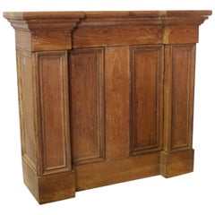 Antique Dry Goods Store Counter