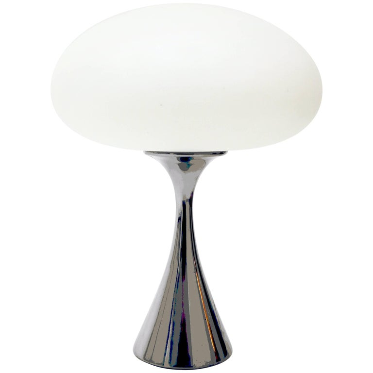 Laurel Mushroom Lamp by Bill Curry