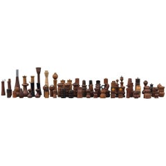 Collection of 62 Danish Peppermills and Others by Jen Quistgaard and Others