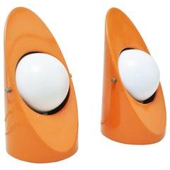 Pair of Italian Mid-Century Modern Lamps