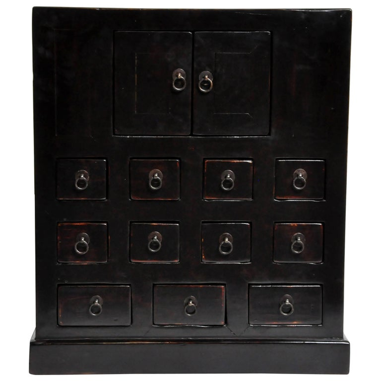 Chinese Medicine Chest with 11 Drawers