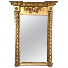 Federal Gold Gilt Mirror, circa 1820-1840