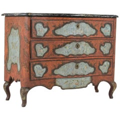 Late 18th Century Polychrome Chest of Drawers