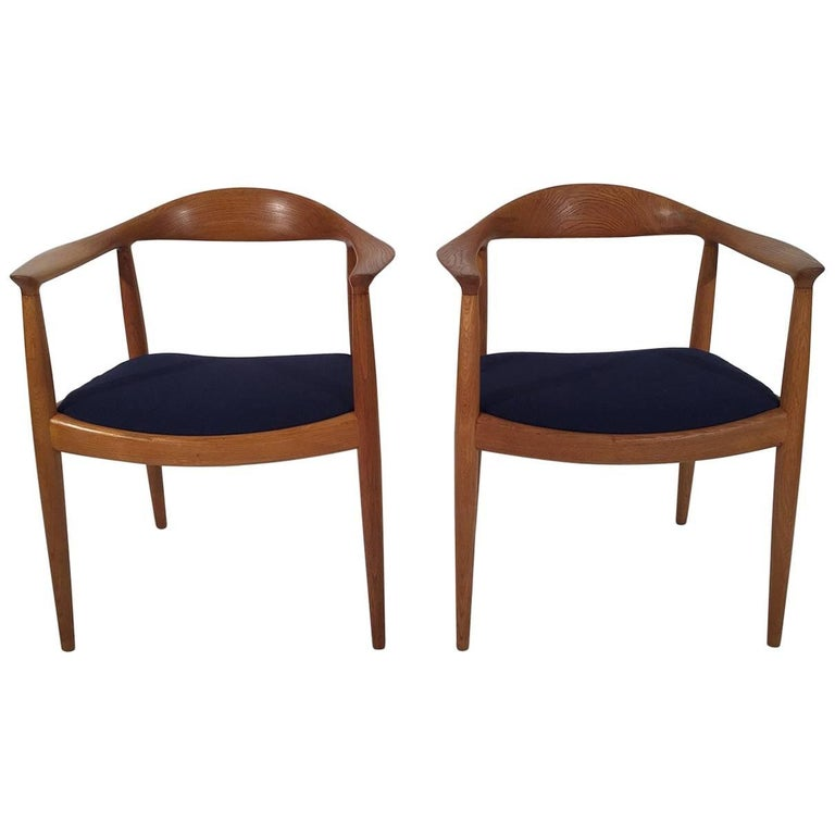 "Midcentury Hans Wegner for Johannes Hansen ""The Chair"""
