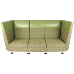 Contemporary Modern Booth Style Sofa