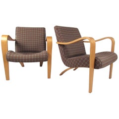 Pair of Thonet Lounge Chairs