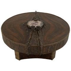 Belgian Postwar Design Sculptural Coffee Table, by Marc D'Haenens
