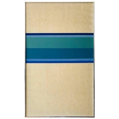 Minimalist Hard-Edge Painting, 1975