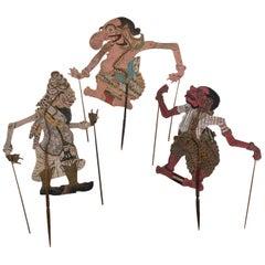 19th Century Wayang Kulit Shaddow Puppet