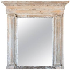 Greek-Style Antique Mirror, circa 1800