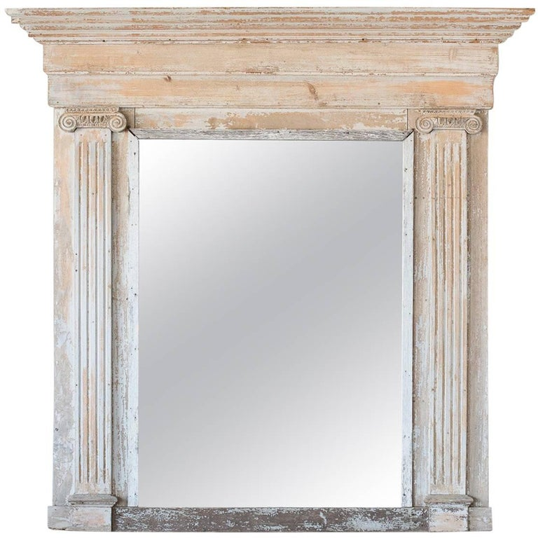Greek-Style Antique Mirror, circa 1800