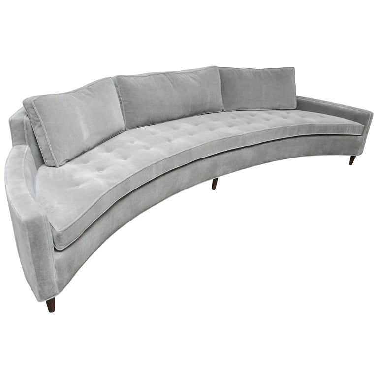 Harvey Probber Curved Front Sofa