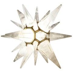 Luxury Star Rock Crystal Table Lamp by Phoenix