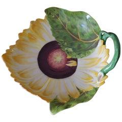 Sunflower Dish, Chelsea, circa 1755