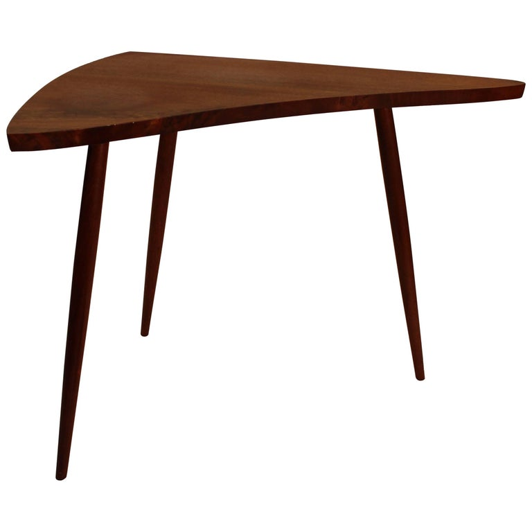 George Nakashima Walnut Amoeba Table