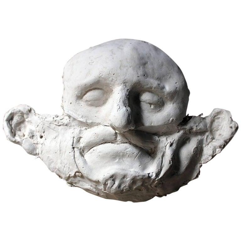 Beth Carter, 'Wide Face Sad Face Mask', Jesmonite and Plaster, Unique For Sale