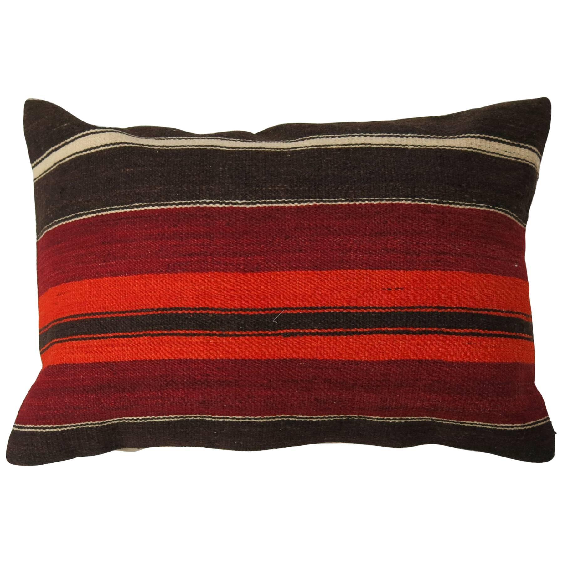 Large Turkish Kilim Pillow