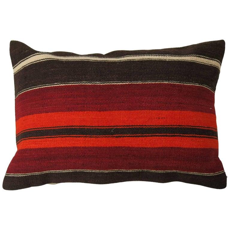 Large Turkish Kilim Pillow For Sale