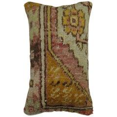 Vintage Turkish Anatolian Rug Pillow