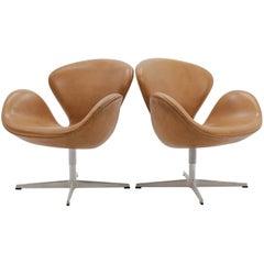 Danish Swan Chair by Arne Jacobsen for Fritz Hansen, 1960
