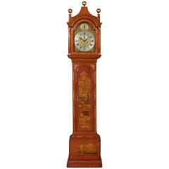 Good 18th Century George II Longcase Clock by Moore of Ipswich