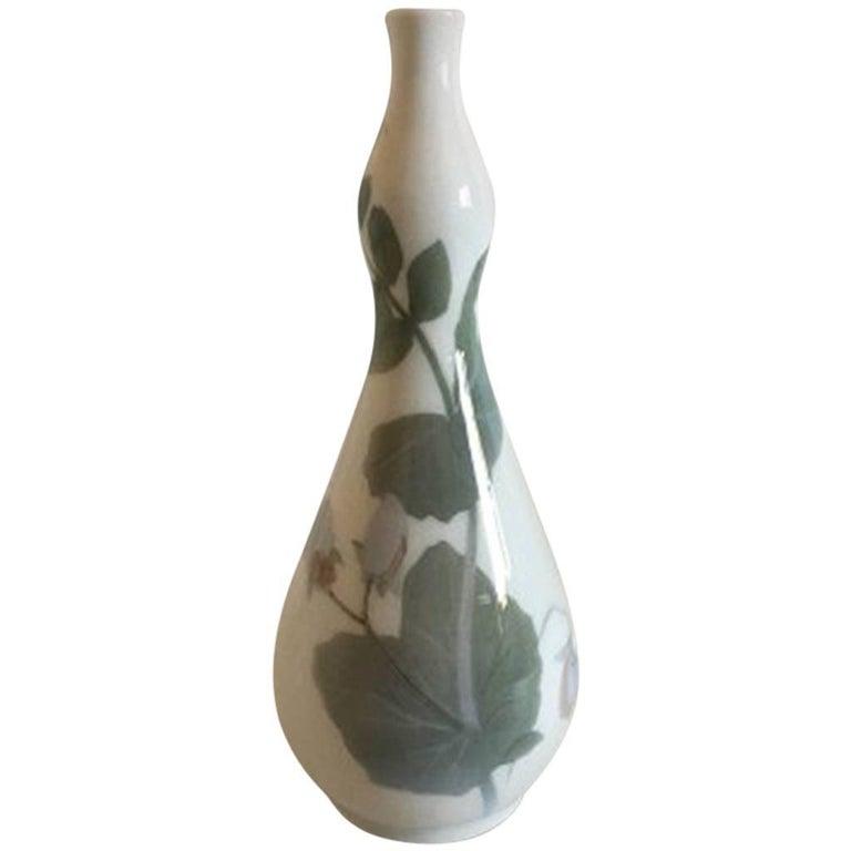 Royal Copenhagen Unique Vase by Oluf Jensen #4813 For Sale