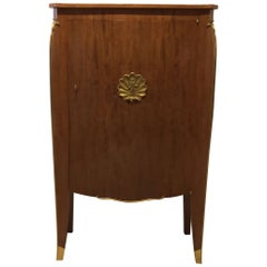 French Art Moderne Mahogany Cabinet