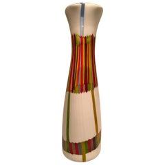 ANSOLO FUGA for Avem Murano Glass Multi-Color Vase, circa 1950
