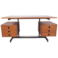 Vintage Modern Floating Top Desk