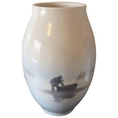 Royal Copenhagen Unique Vase by Karl Sørensen from 1926