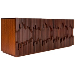 """Sideboard by Luciano Frigerio Model """"Norman"""", Italy, 1970"""