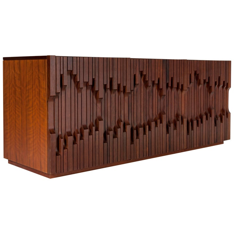 "Sideboard by Luciano Frigerio Model ""Norman"", Italy, 1970"