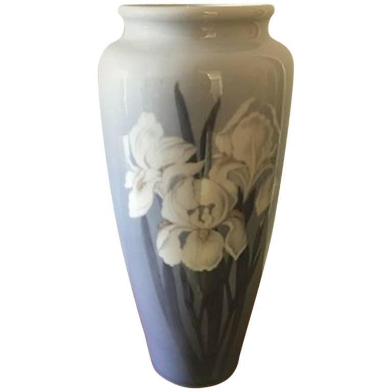 Royal Copenhagen Art Nouveau Unique Vase by Catharina Zernichow For Sale