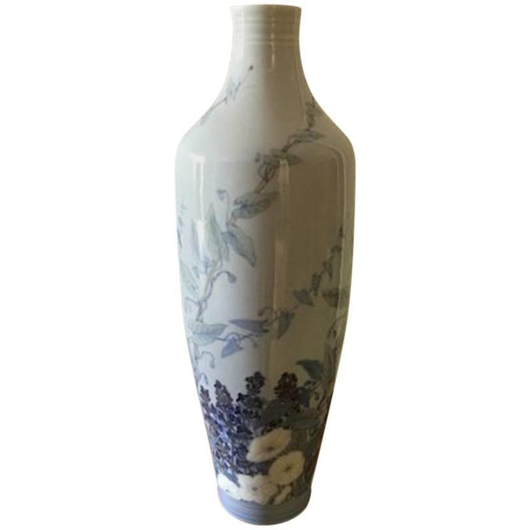 Royal Copenhagen Art Nouveau Unique Vase by Catharina Zernichow For Sale
