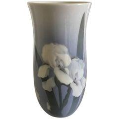 Royal Copenhagen Unique Vase from 1896 with Iris