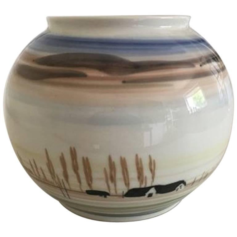 Royal Copenhagen Vase by Andy CT Unique Vase