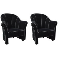 Pair of Haus Koller Collection Armchairs by Josef Hoffman