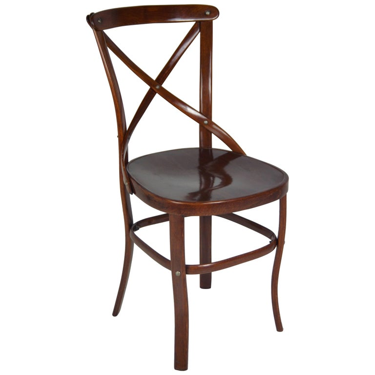 Slatted Chair Thonet-Armchair No. 91