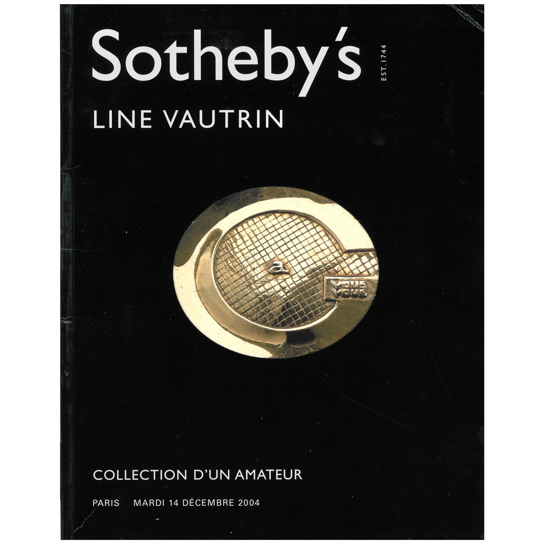 Line Vautrin - Sotheby's Collection D'un Amateur, Sale Catalogue