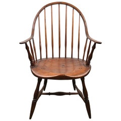 Early Continuous Windsor Chair Attributed to Ebenezer Lacy, circa 1780