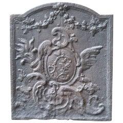 18th Century French 'Decoration' Fireback