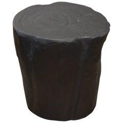 Andrianna Shamaris Triple Burnt Teak Wood Cube
