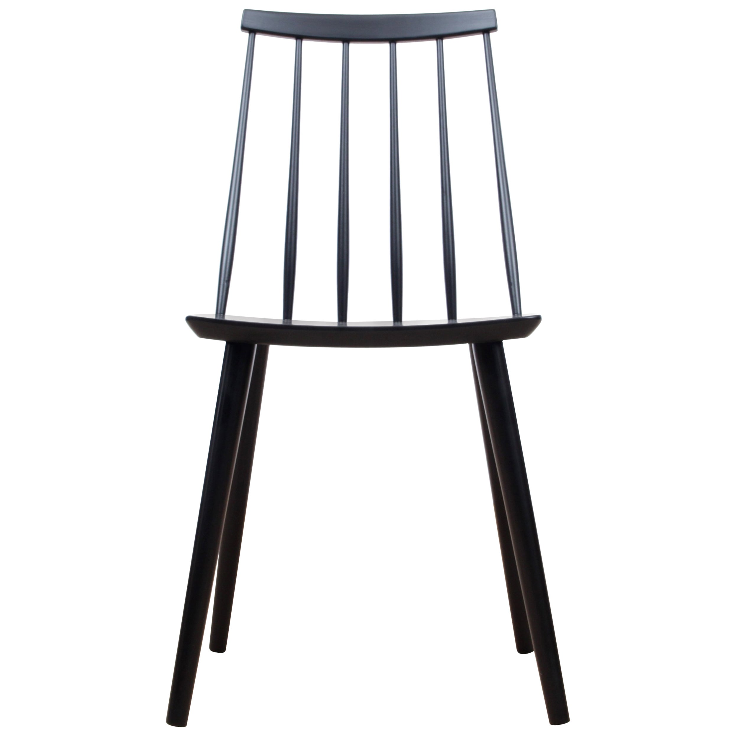 Mid-Century Modern Scandinavian Stick Back Chair by Thomas Harlev