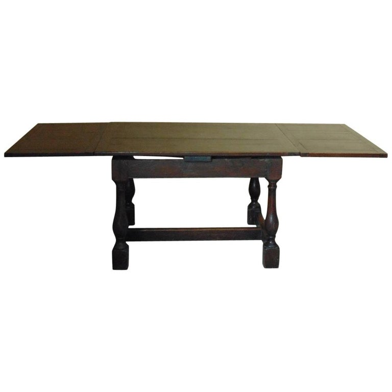 17th Century Draw-Leaf Refectory Table