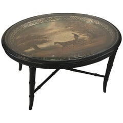 Mid-19th Century English Tray Top Table