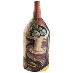 Marcello Fantoni Italy 1955 Bottle Vase Still Life