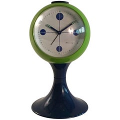 Blessing Pedestal Clock Retro, circa 1968, West Germany