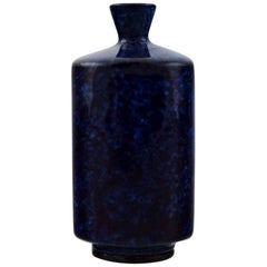 Berndt Friberg Studio Ceramic Vase, Modern Swedish Design, Unique, Handmade