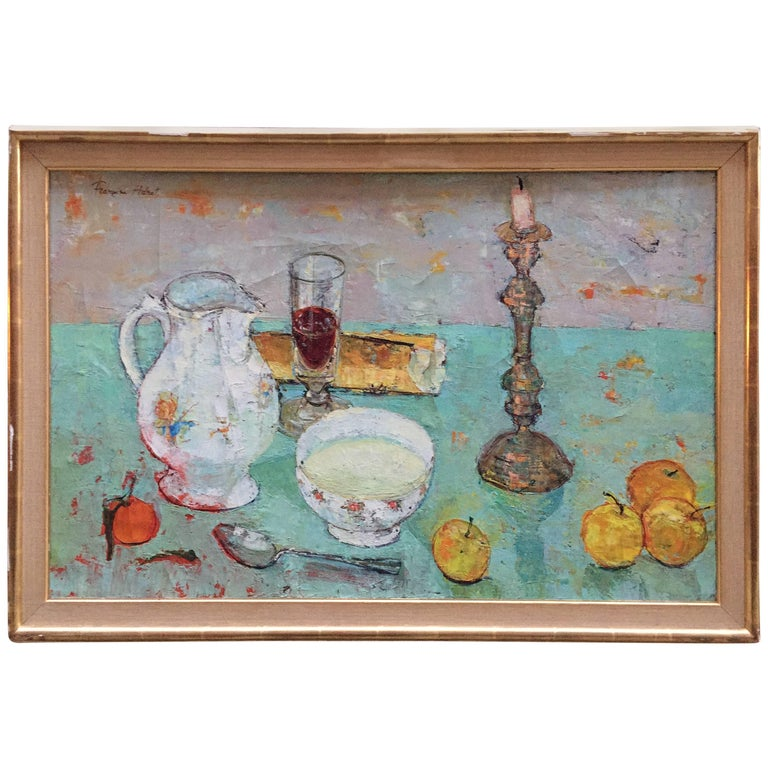 Francoise Adnet Modern French Still Life Painting